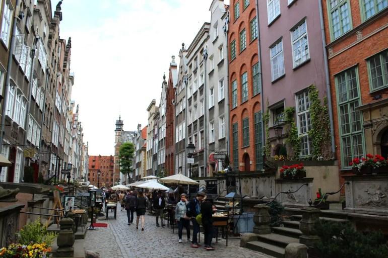 In der Ulica Mariacka reihen sich die Bernsteinhändler aneinander