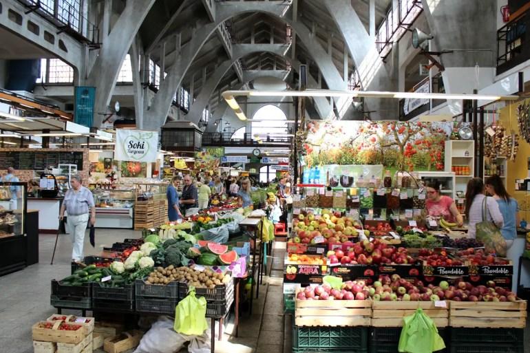 Die Markthalle in Breslau