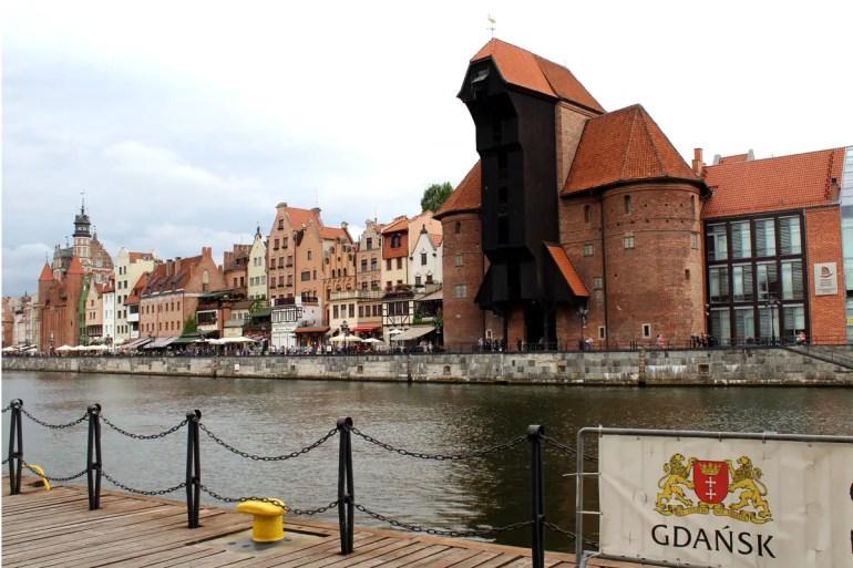Wahrzeichen der Stadt: das mittelalterliche Krantor