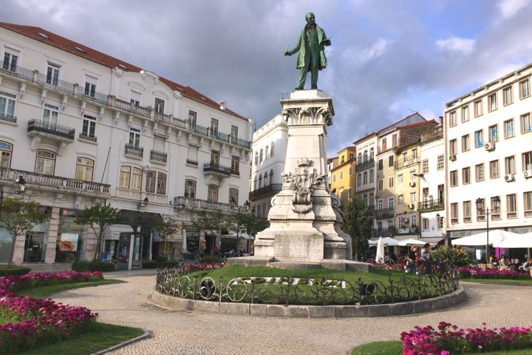 Ausgangspunkt für den Stadtrundgang: der Largo da Portagem