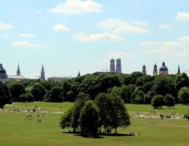 Grüne Oase in der Stadt: der Englische Garten