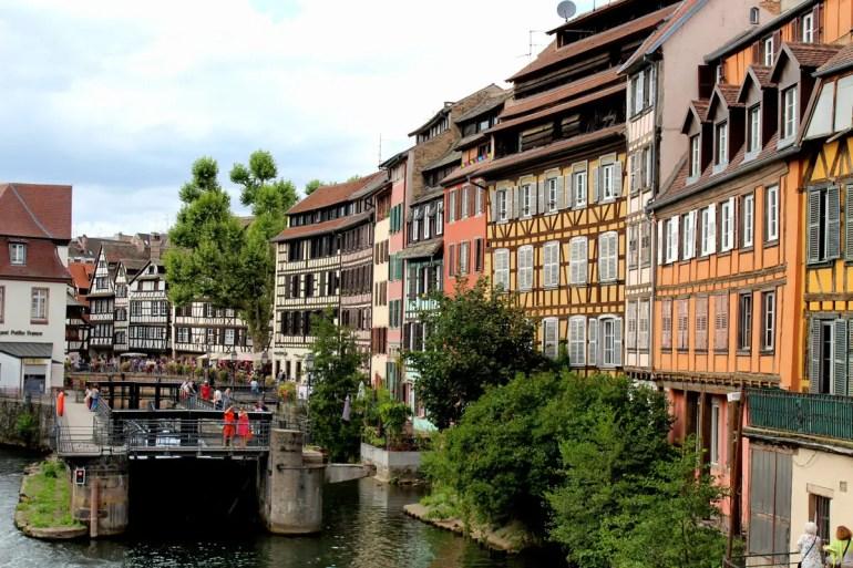 Romantisch: die bunten Fachwerkhäuser im Gerberviertel Petite France