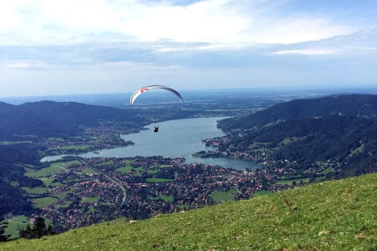 Vom Wallberg hast du einen wunderschönen Blick über das Tegernseer Tal