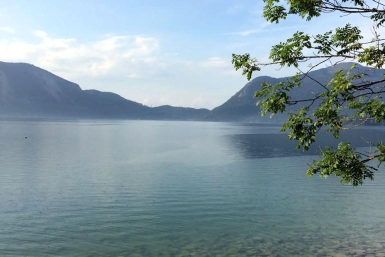 Einer der tiefsten Seen in Bayern: der Walchensee