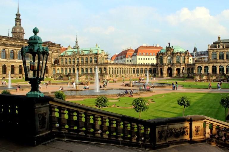 Der Dresdner Zwinger ist eines der bekanntesten Barockbauwerke Deutschlands