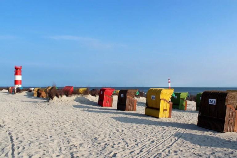 Strandurlaub: Die Helgoländer Düne bietet Ruhe und Entspannung