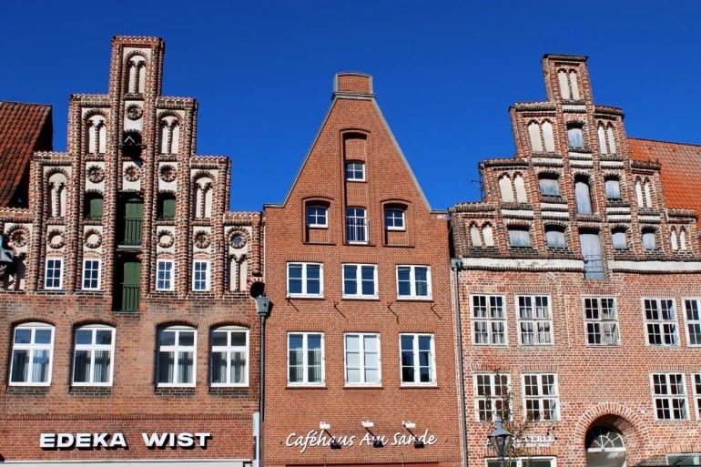 Schiefe Giebel: Von der Absenkung sind viele Häuser in der Altstadt betroffen