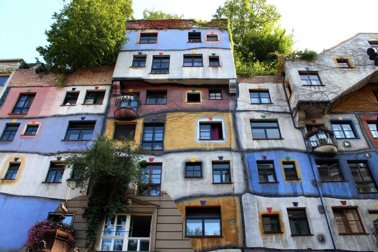 Wiens berühmtestes Mietshaus: das Hundertwasserhaus