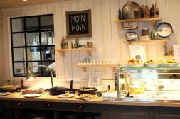 Moin Moin: Frühstück mit regionalen Produkten im Holyharbour
