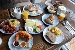 Fertig fürs gemütliche Langschläferfrühstück