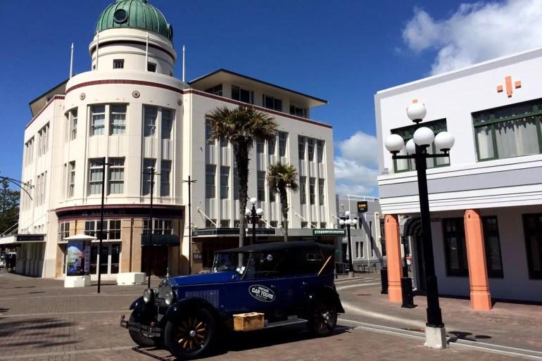 Napier wurde nach einer Erdbebenkatastrophe im Art-Déco-Stil wieder aufgebaut