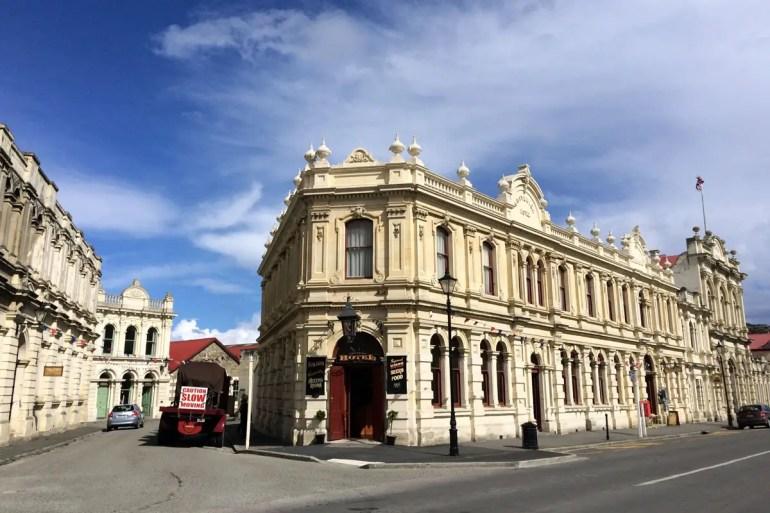 Oamaru präsentiert sich mit einem bestens erhalten Zentrum im viktorianischen Stil