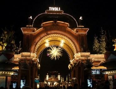 Im Dezember verwandelt sich der Vergnügungspark Tivoli in ein Weihnachtswunderland