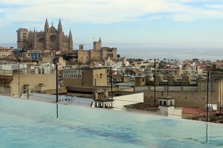 Eines der Hotels in Palma mit Ausblick: das Nakar Hotel