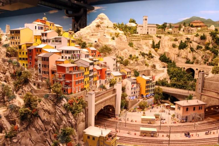 Der Urlaub in Italien gehört auch im Miniatur Wunderland dazu