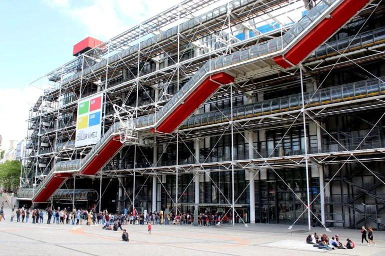 Immer noch sehenswert: das Centre Pompidou