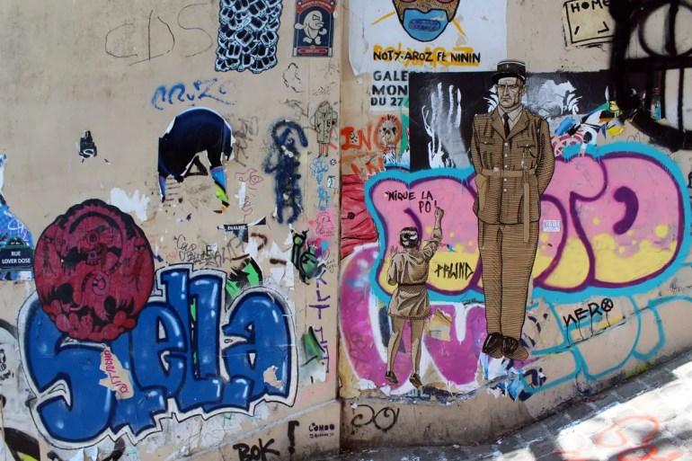Streetart in Montmatre