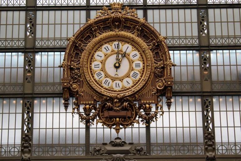 Imposant und hübsch: die riesige Bahnhofsuhr im Musée d'Orsay