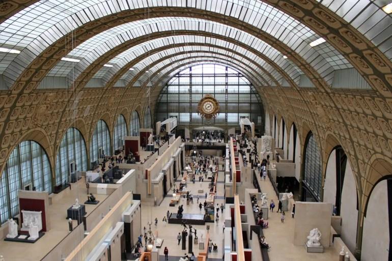Früher ein Bahnhof und jetzt das Zuhause der Impressionisten: das Musée d'Orsay