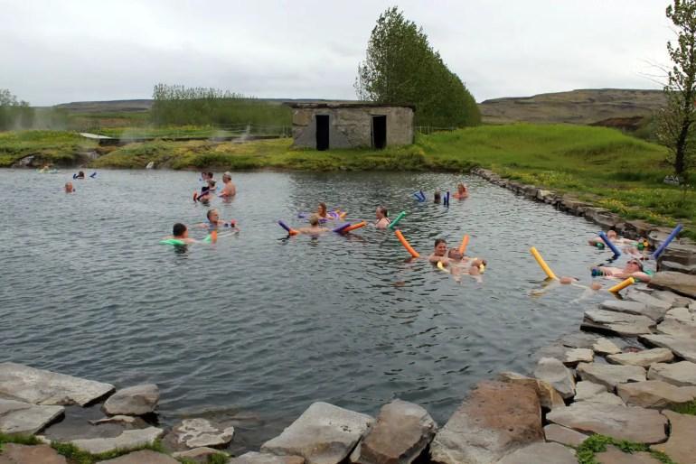 Die Gamla Laugin gilt als ältestes Schwimmbad Islands