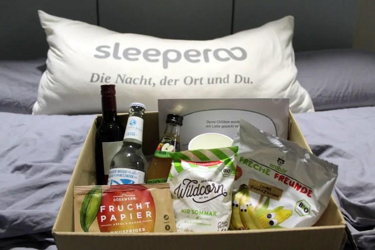 Die Chillbox bietet Proviant für die Nacht