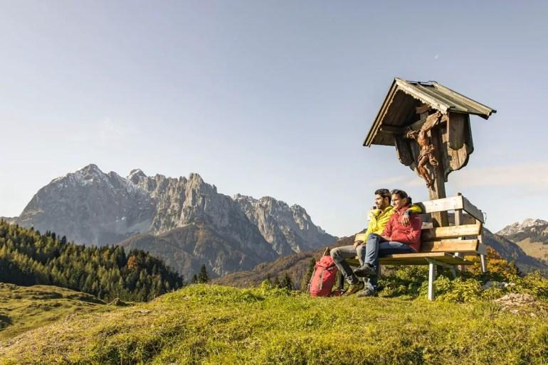 Eine Bergkulisse zum Träumen (Credit: Region St. Johann in Tirol / Sportalpen)