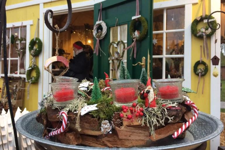 Der Weihnachtsmarkt auf Gut Pronstorf bietet skandinavisches Flair