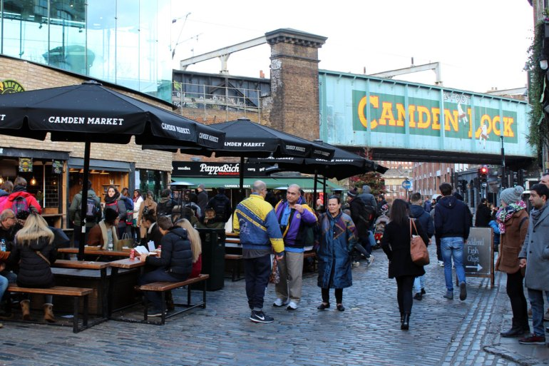 Für Hungrige gibt es auf dem Camden Market ein breites Angebot an Streetfoot