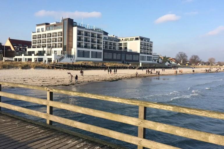 Wellness mit Meerblick direk auf die Ostsee bietet das Bayside in Scharbeutz