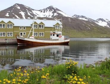 Siglufjörður ist die nördlichste Stadt Islands