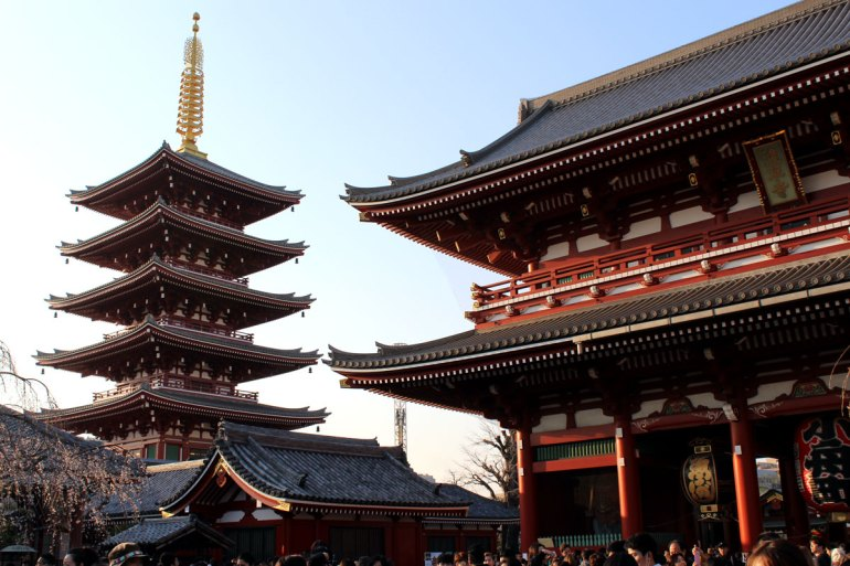 Tokios schönster Tempel: der Senso-ji-Tempel in Asakusa