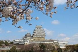 Japans Wahrzeichen und Unseco-Weltkulturerbe: die Burg Himeiji