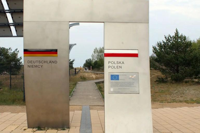 Die Europapromenade zwischen Bansin und Swinemünde ist die längste Strandpromenade Europas und führt direkt an der Grenze zu Polen vorbei