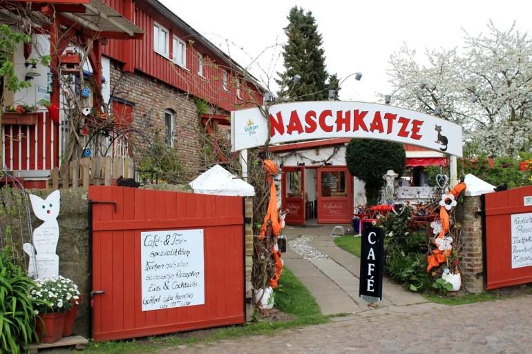 Ein Unikat auf Usedom: das Gartencafé Naschkatze in Krummin