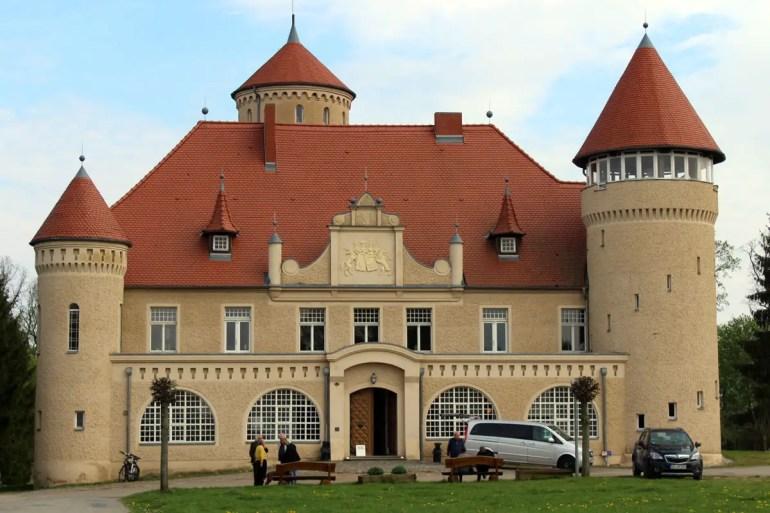 Hübsch restauriert: Schloss Stolpe am Stettiner Haff