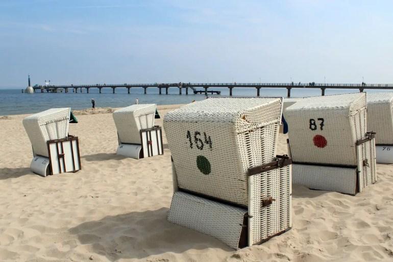 Auch Zinnowitz bietet eine lange Strandpromenade