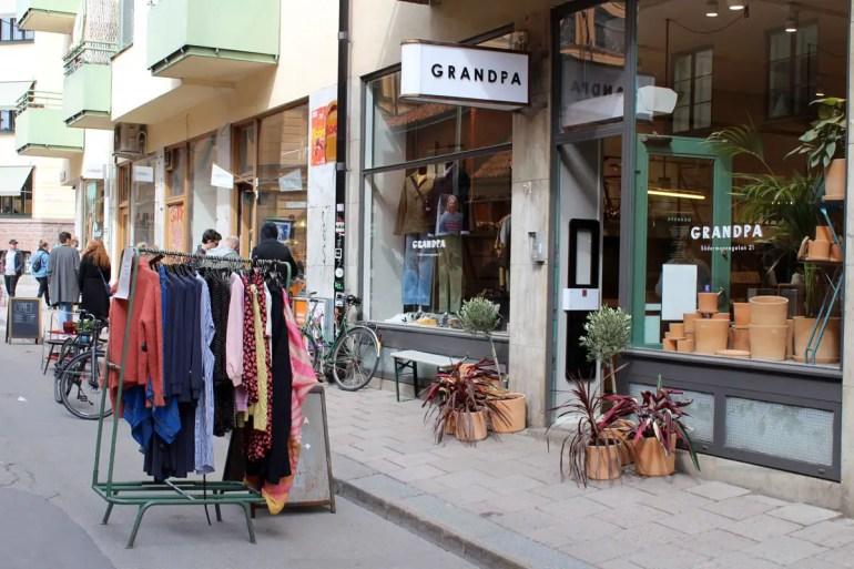 Kleine Boutiquen und coole Läden: Södermalm gilt als Stockholms Hipsterviertel