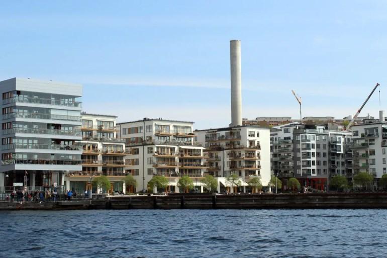 HafenCity-Feeling in Stockholm: die moderne Architektur am Wasser