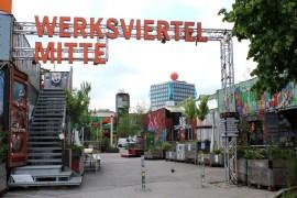 Das Werksviertel Mitte ist ein Beispiel dafür, dass auch München cool sein kann