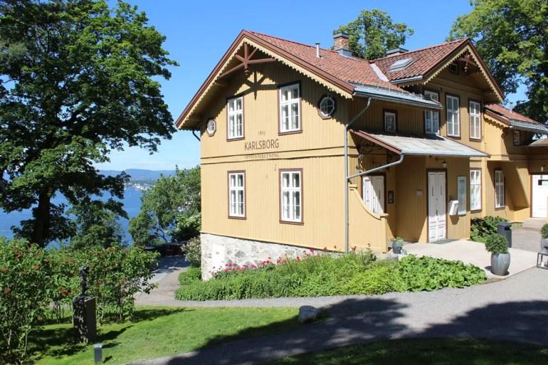 Das Gasthaus Karlsborg im Ekelandpark