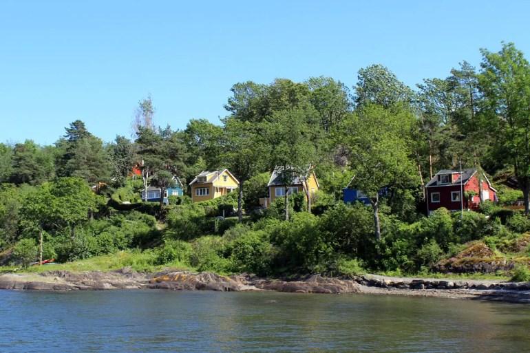 Auf den Inseln haben viele Osloer ein Sommerhaus