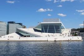 Das Opernhaus ist Oslos neues Wahrzeichen