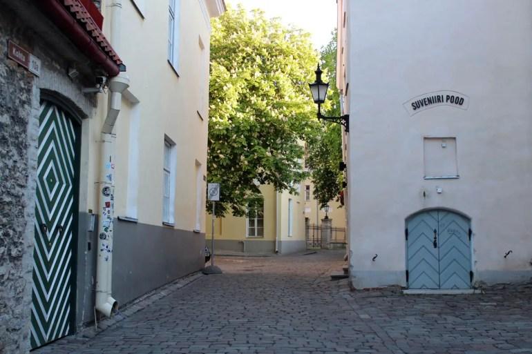 Eine der Gassen der Altstadt