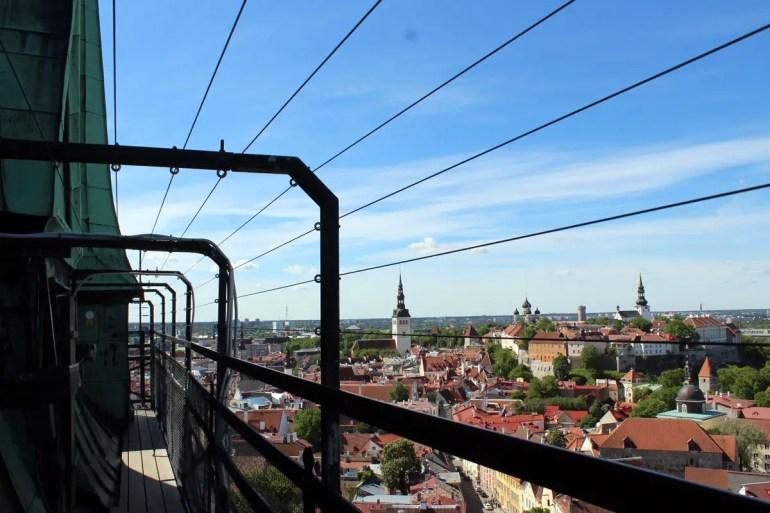 Vom Turm der Olaikirche hast du einen tollen Blick über die Stadt