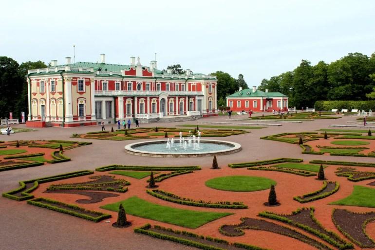 Schloss Kadriorg gilt als Estlands Versailles
