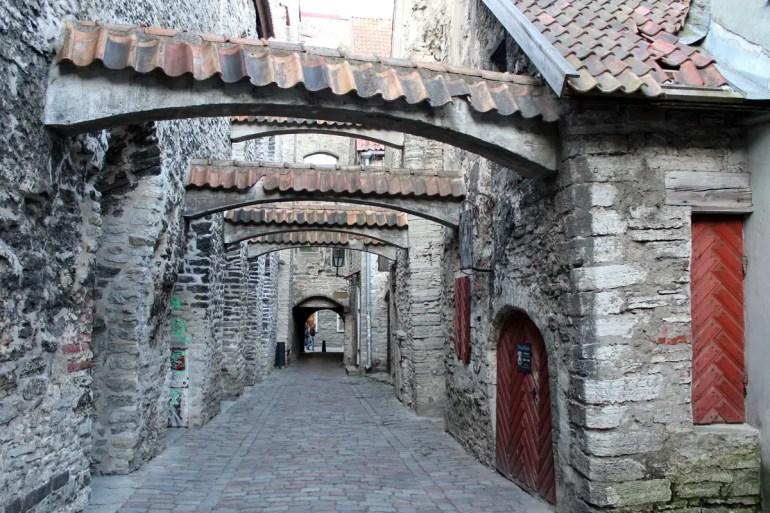 Der Katharinengang in Tallinns Altstadt