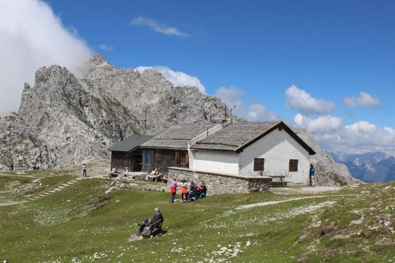 Alpenidylle oben auf der Nordkette