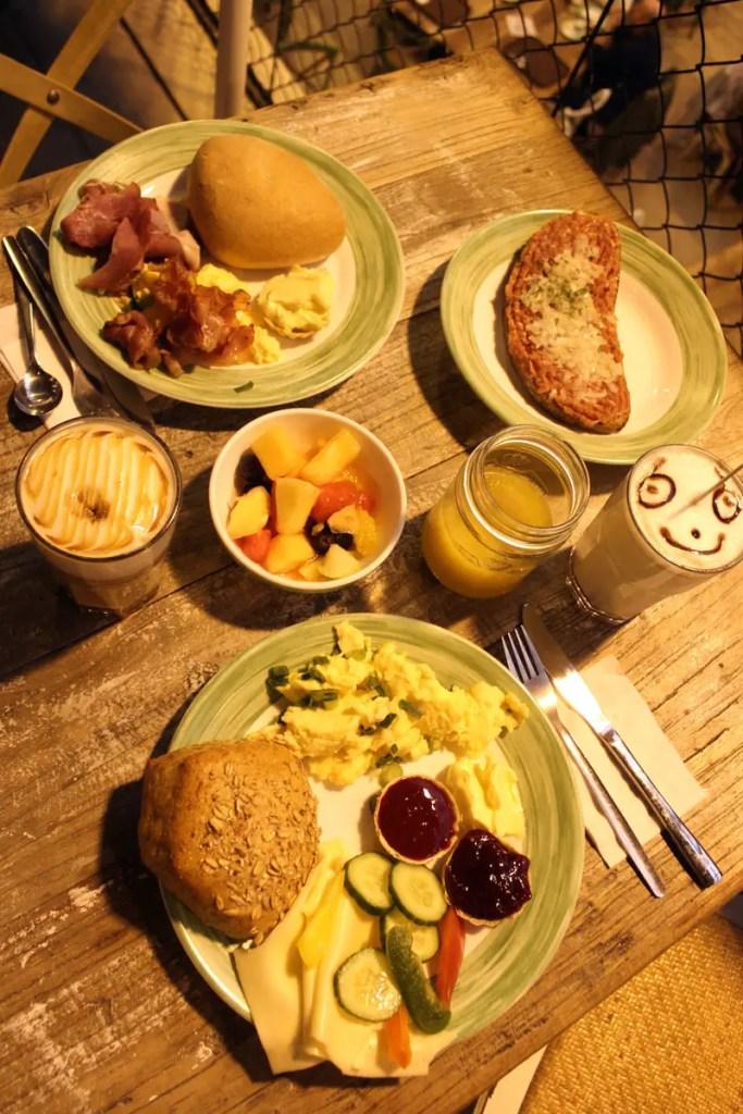 Frühstück in der Hofküche