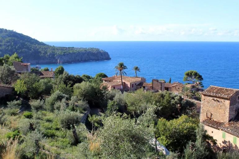 Herrlich: der Ausblick aufs blaue Mittelmeer