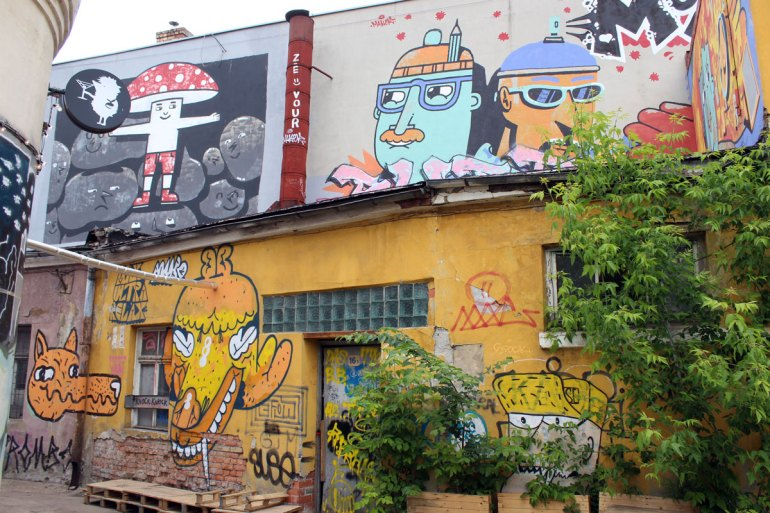 Streetart im Creative Quarter